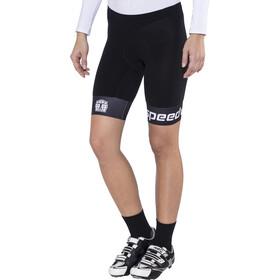 Bioracer Triathlon Short Women Black/White